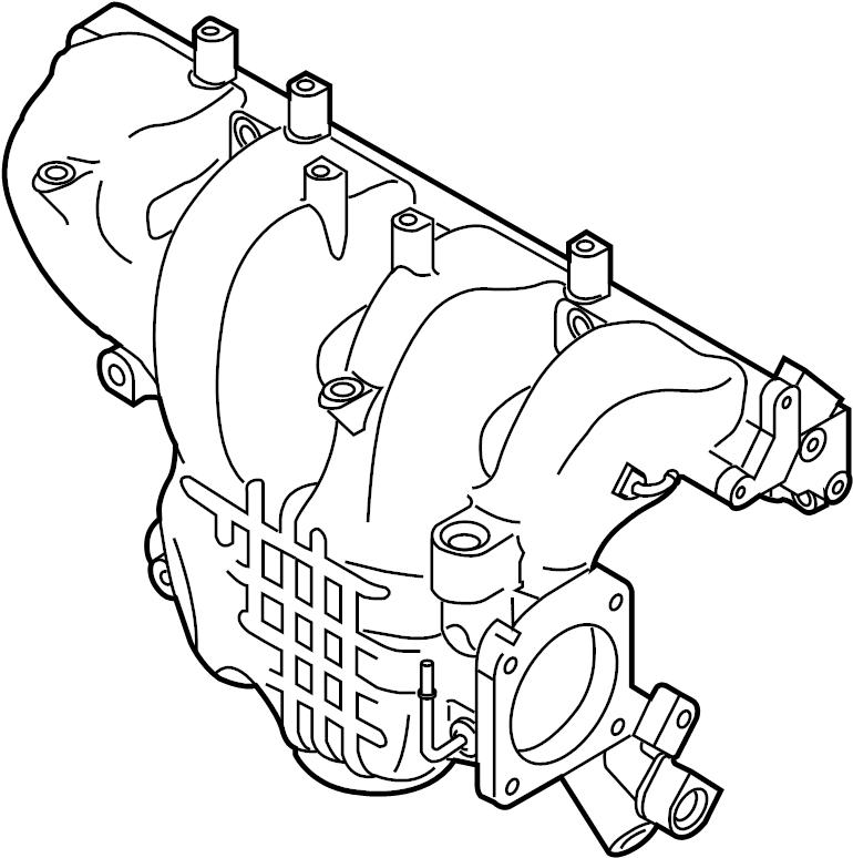 Mazda 6 Engine Intake Manifold. 2.3 LITER. CX-7. CX-7; 2