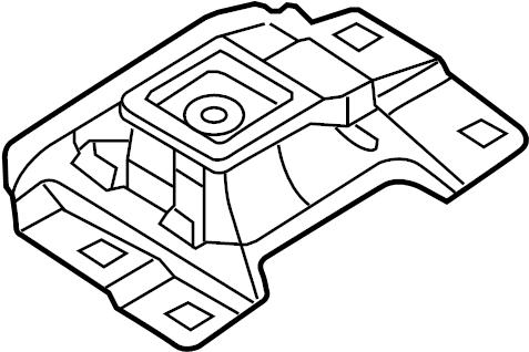 Mazda 3 Manual Transmission Mount. ENGINE, Replace