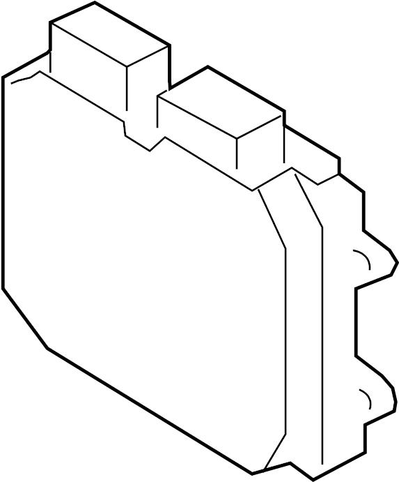 Mazda 3 Engine Control Module. Auto, California, Trans