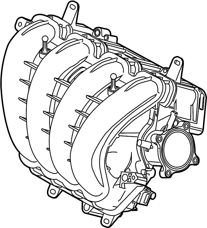 Mazda CX-5 Engine Intake Manifold. 2.0 LITER W/SKYACTIV