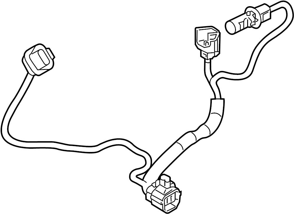 Mazda 3 Headlight Wiring Harness. 2017-18, LED, w/o