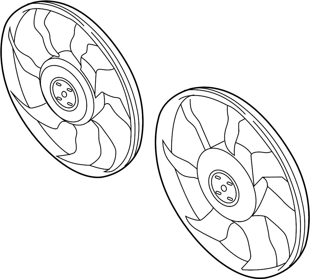 Mazda 3 Engine Cooling Fan Blade. JAPAN BUILT. Mazda3