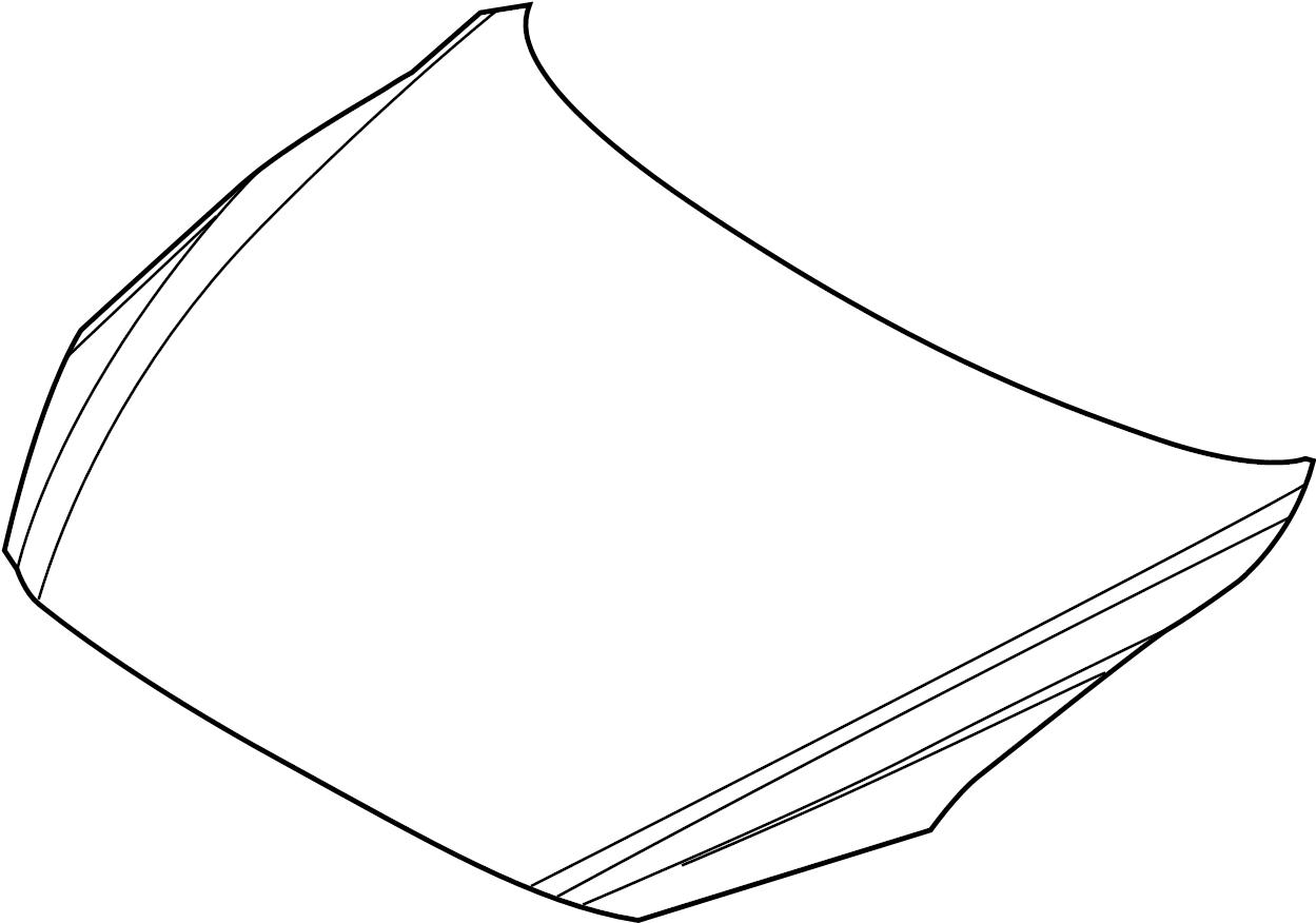 Mazda 3 Hood Panel Front Components