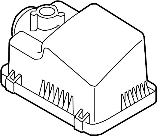 Mazda 3 Air Cleaner Cover. 2.5 LITER. 2.5 LITER, manual
