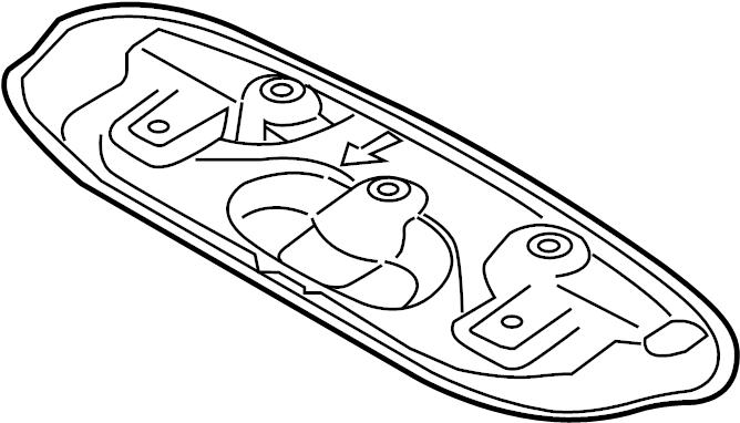 Mazda 3 Floor Pan Heat Shield. 2.0 LITER, hatchback. 2.5