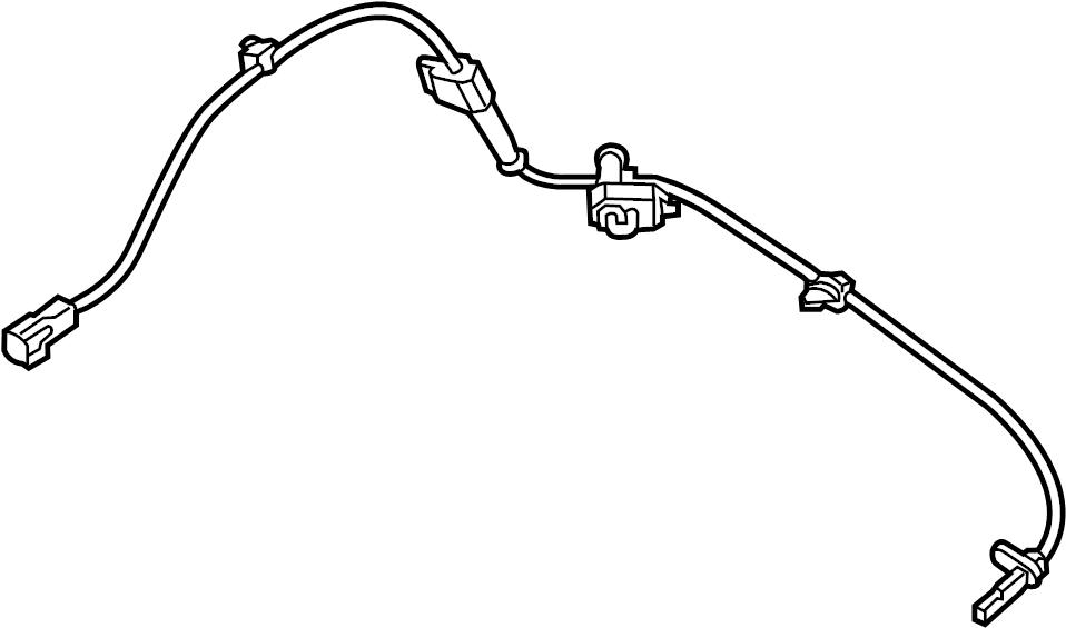 Mazda 3 Sensor. ABS. (R). SPEED. RIGHT. Mazda3; Mexico