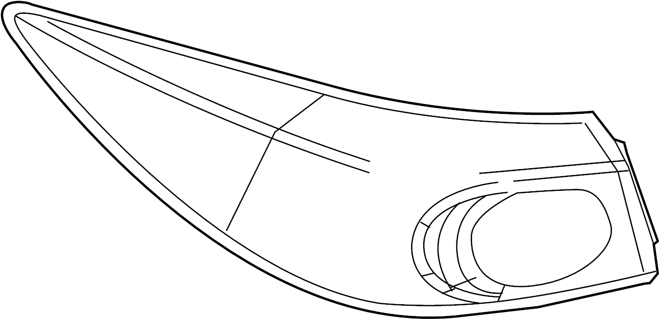 Mazda 3 Tail Light Assembly. SEDAN, w/LED. LAMPS