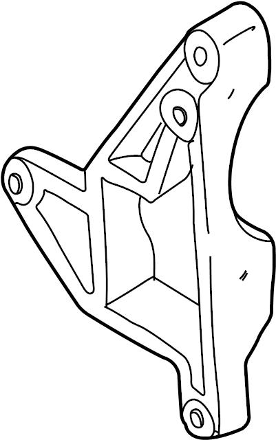 Mazda Tribute Alternator Bracket. 3.0 liter. W/O