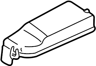 Mazda MPV Fuse Box Cover. ELECTRICAL, Telematics, Lighting