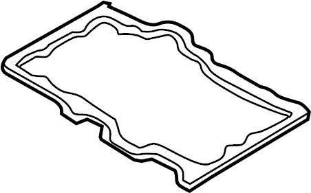Mazda 6 Engine Oil Pan Gasket. 2.5 LITER. 3.0 LITER