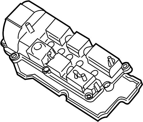 Mazda Tribute Engine Valve Cover Gasket. 3.0 LITER. MPV