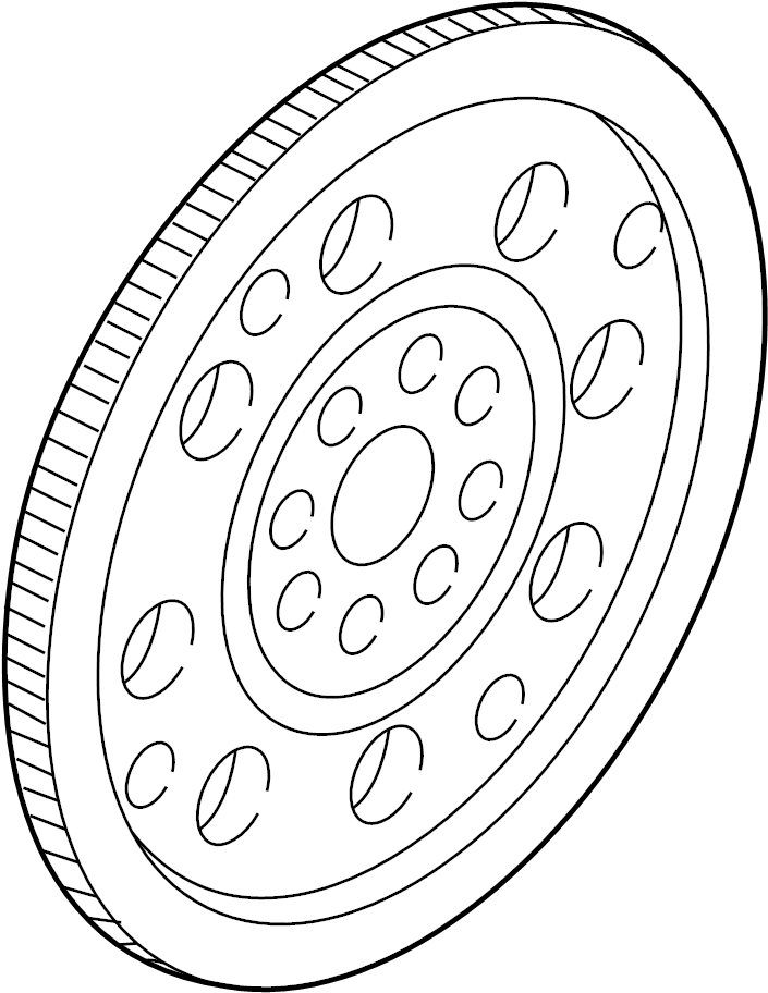 Mazda MPV Automatic Transmission Flexplate. 3.0 LITER. MPV