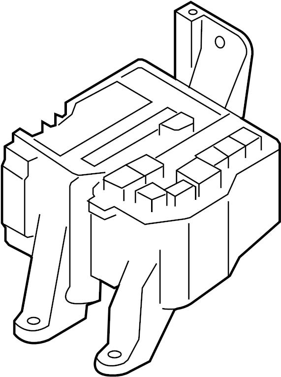Mazda CX-9 Fuse Box Cover (Lower). ENGINE COMPARTMENT