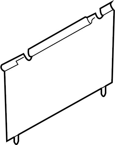 Mazda CX-9 Fuse Box Cover. PANEL, INSTRUMENT, GLOVE, Door