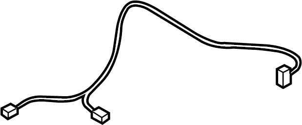 Mazda CX-9 Power Seat Wiring Harness. DRIVER SIDE. Front