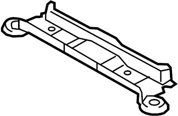 Mazda CX-9 Suspension Subframe Crossmember (Rear