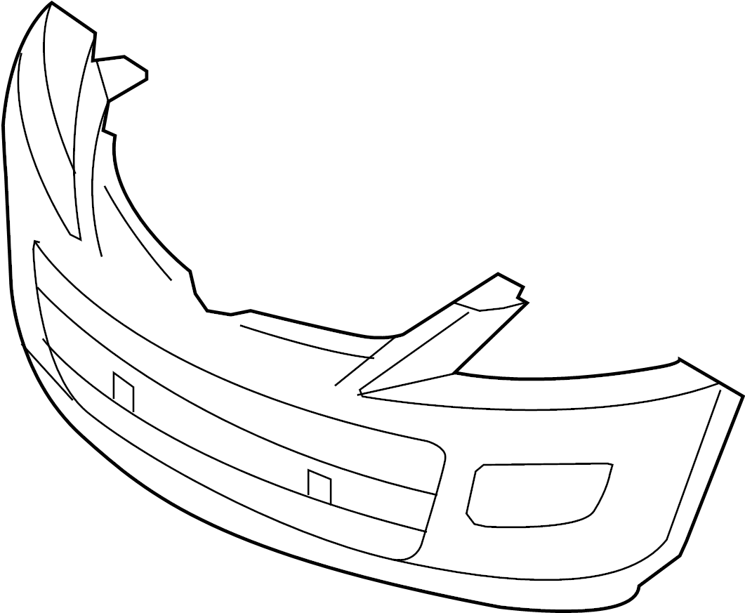 Mazda CX-9 Bumper Cover (Front, Upper). 2010-12