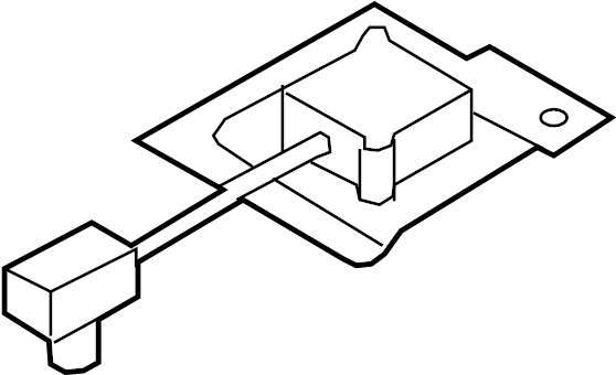 Mazda CX-9 Gps navigation system antenna. 2010-12. Cx-9