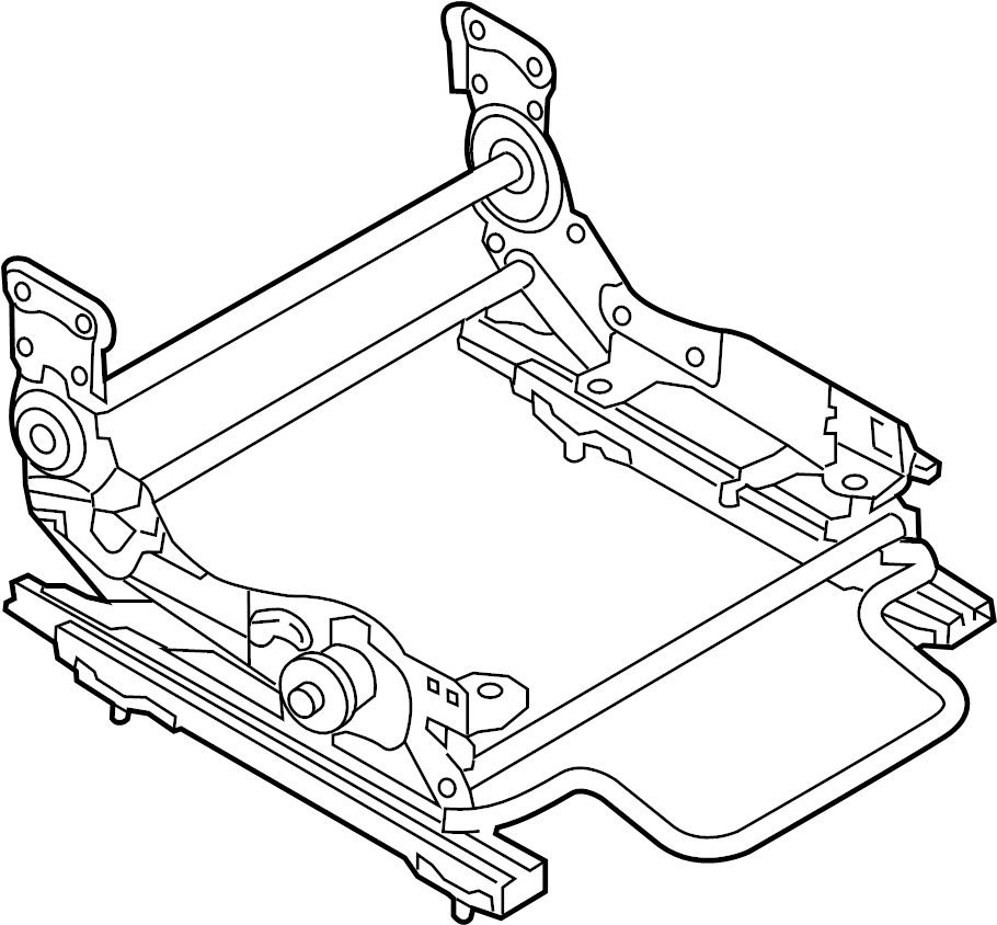 Mazda CX-9 Seat Adjuster. PASSENGER SIDE, MANUAL SEAT