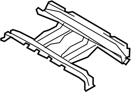 Mazda CX-9 Floor Pan Crossmember (Front, Rear