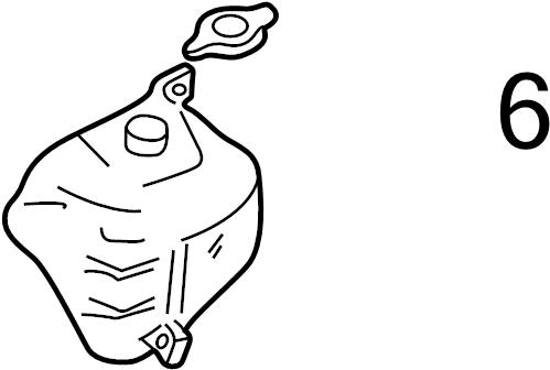 Mazda MIATA Engine Coolant Reservoir Cap. Cause, Cooling