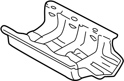 Mazda MIATA Engine Oil Sump Windage Tray. Oil. Baffle