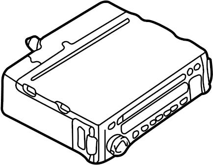 Mazda MIATA Radio Control Unit. AM/FM & CD player, 5/100