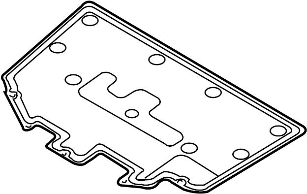 Mazda MX-5 Miata Hood Insulation Pad. COMPONENTS, Body