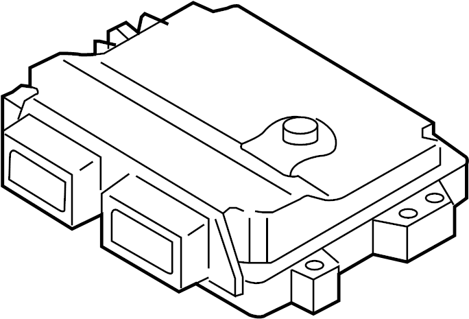 Mazda MX-5 Miata Engine Control Module. Manual, Speed