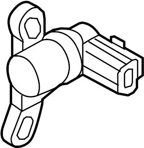 Mazda 5 Engine Crankshaft Position Sensor. LITER, Repair