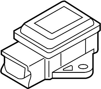 Mazda MX-5 Miata Suspension Yaw Sensor. COMPONENTS