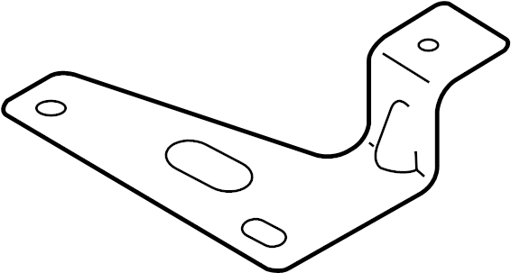 Mazda MX-5 Miata Suspension Yaw Sensor Bracket. Electrical