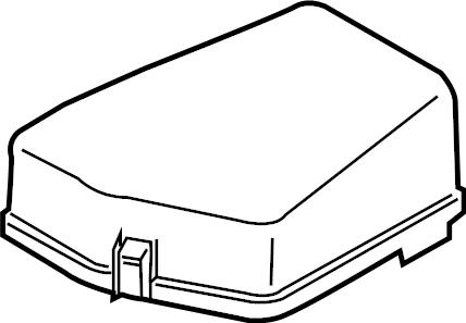 Mazda MX-5 Miata Fuse Box Cover. ENGINE COMPARTMENT