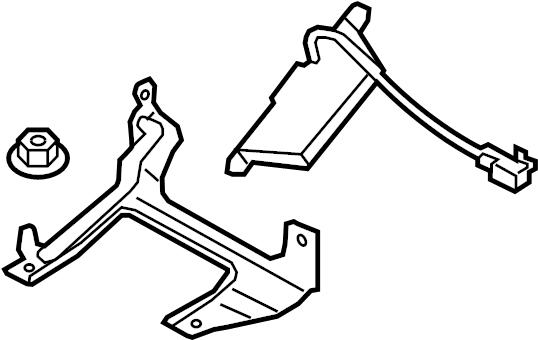 Mazda MX-5 Miata Keyless Entry Antenna. # 3. Telematics
