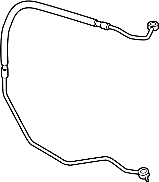 Mazda MX-5 Miata Power Steering Pressure Hose. GEAR, HOSES