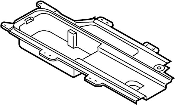 Mazda MX-5 Miata Console Compartment. 2009-15. CENTER, Box