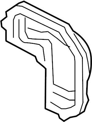 Mazda MX-5 Miata Differential Cover (Rear). Miata MX5