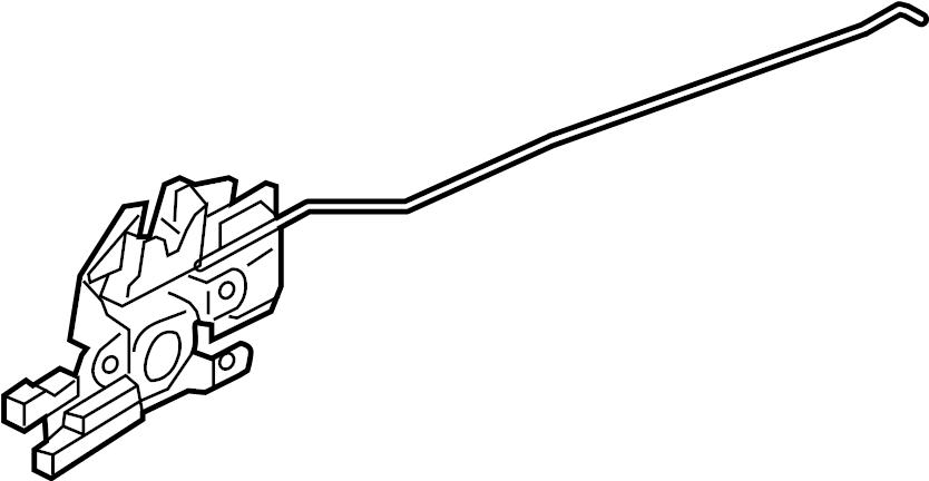 Mazda MX-5 Miata Lock. Lid. W/RETRACTABLE Hard Top. Deck