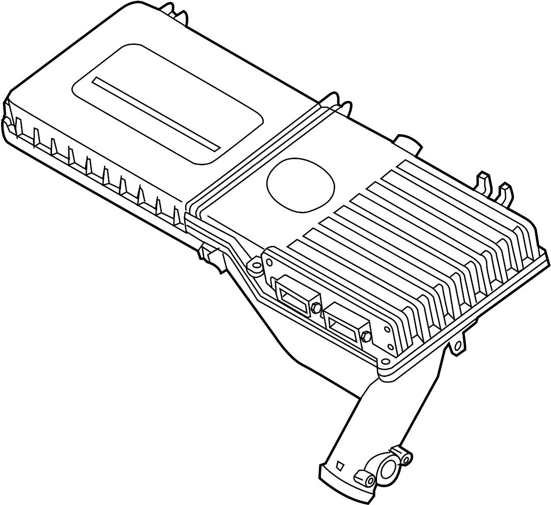 Mazda 2 Engine Control Module. Auto trans. Mazda2; Auto