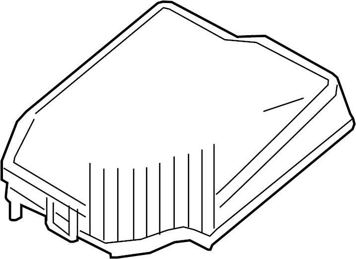 Mazda MX-5 Miata Cover, main fuse block. Upper cover