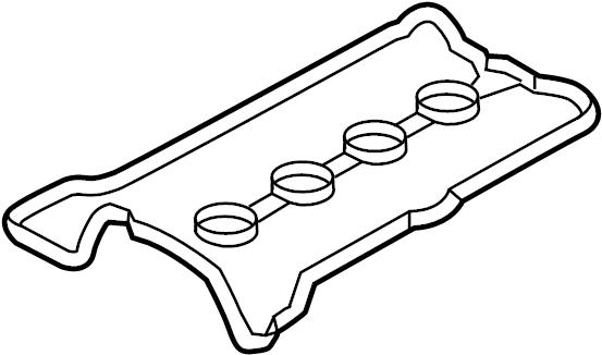 Mazda MX-5 Miata Engine Valve Cover Gasket. Miata MX5