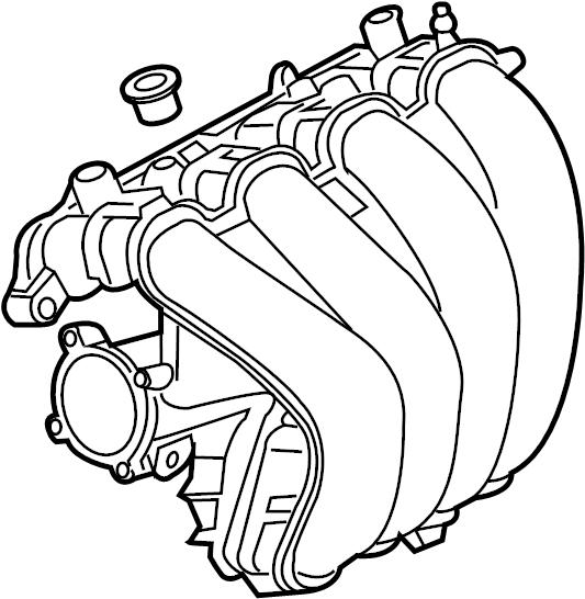 Mazda MX-5 Miata Engine Intake Manifold. Miata MX5