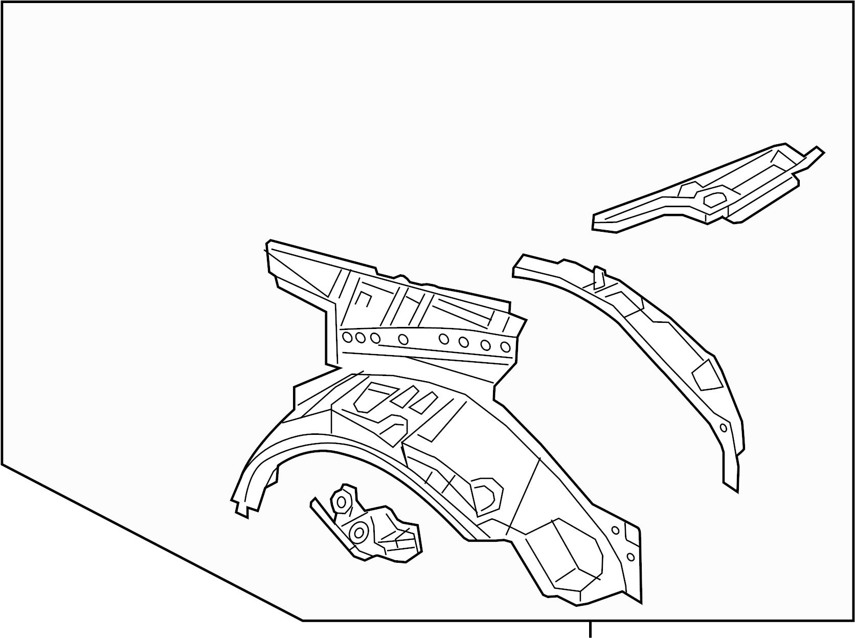 Mazda Mx 5 Miata Quarter Panel Right Rear W O Hard Top