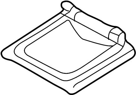 Mazda 626 Engine Control Module Bracket (Upper). 2.0 LITER