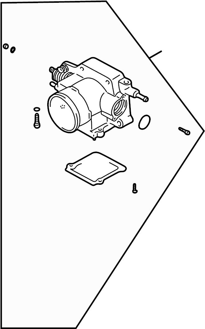 Mazda 626 Idle. Control. Air. Speed. Valve. 2.0 liter. Idl