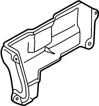 Mazda Protege Engine Timing Cover. Upper, LITER, CYLINDER