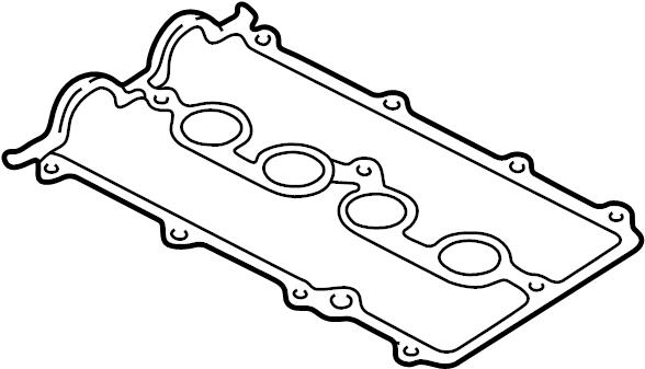 Mazda 626 Engine Valve Cover Gasket. 1.8 LITER. 2.0 LITER