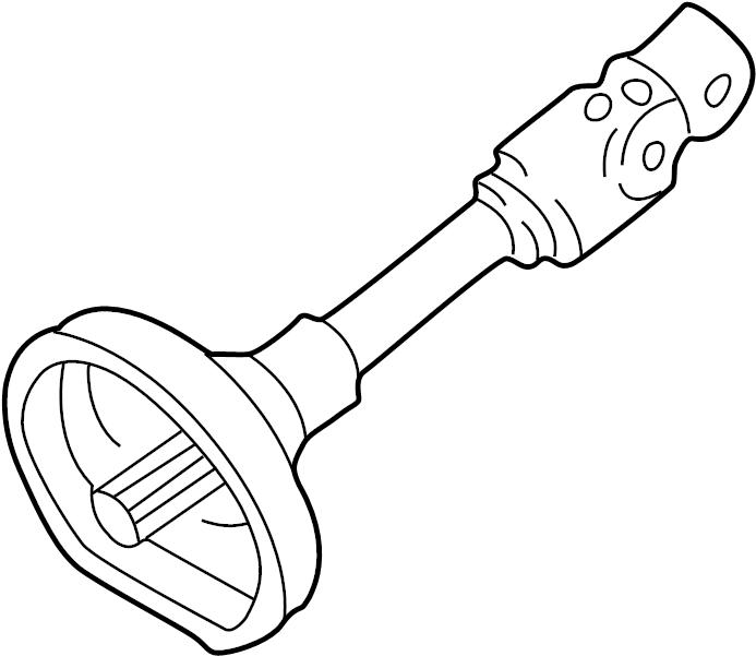 Mazda 626 Steering Shaft. 626, MX-6; Upper; 626. COLUMN