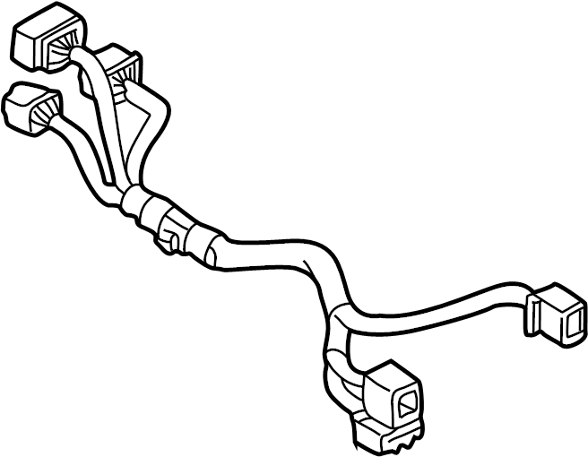Mazda 626 Steering Column Wiring Harness. W/anti theft