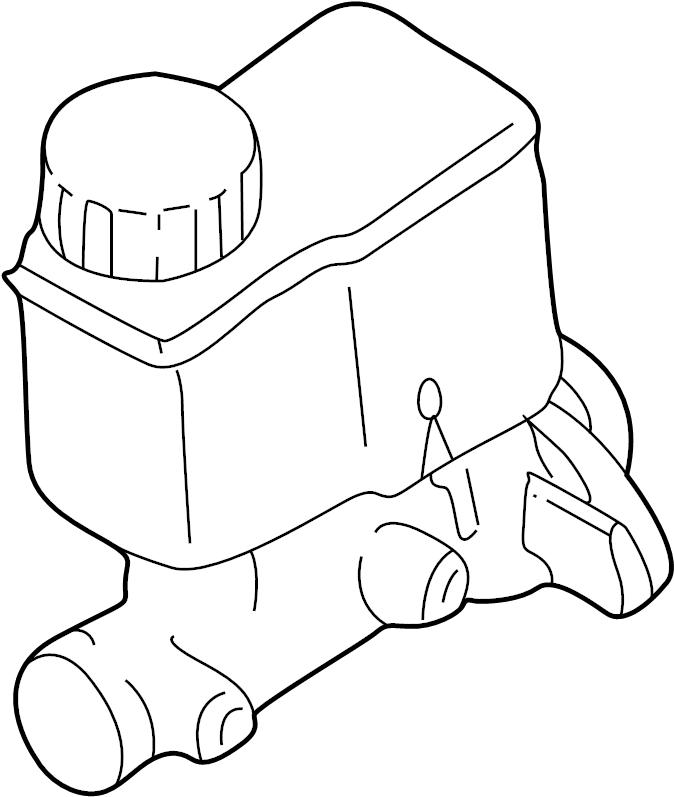 Mazda 626 Brake Master Cylinder. Brake Master Cylinder